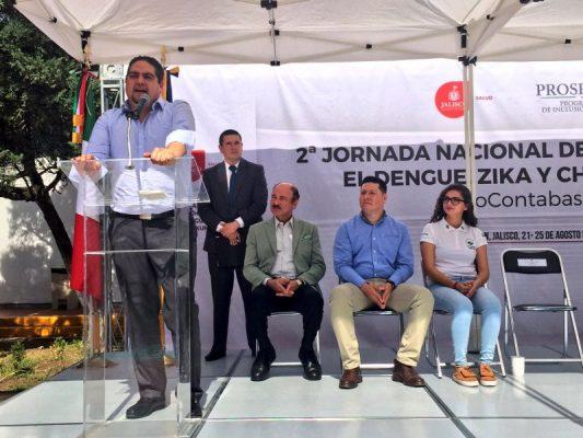 Vital la población en la lucha contra el dengue: SSJ