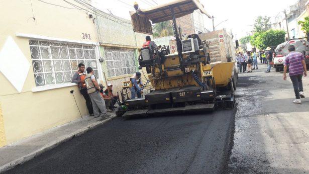 Inician reparación de 24 calles de San Miguel de Mezquitán y centro Histórico de GDL