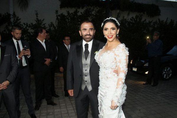 Polémica boda de Vicente Fernández Jr y Karina  Ortegón