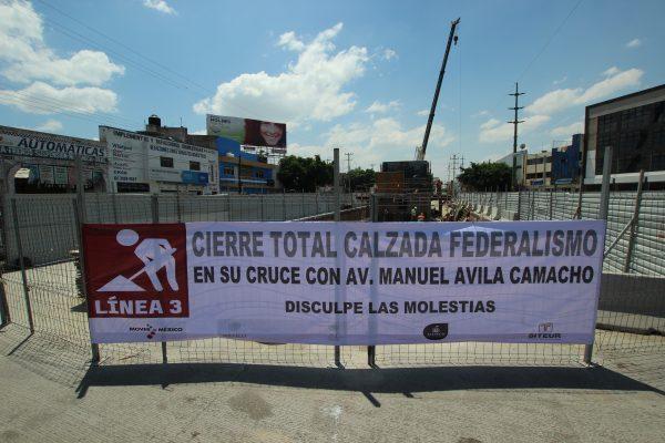 Advierte Siteur del cierre total de Ávila Camacho y Federalismo