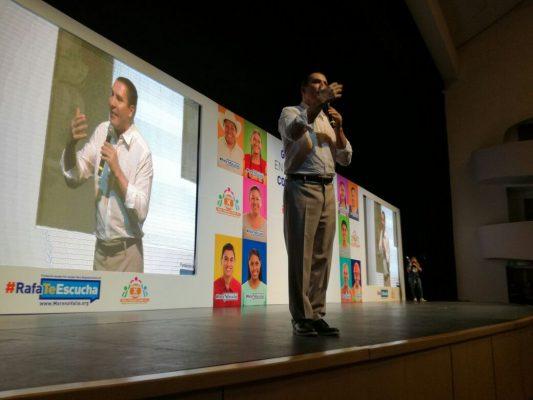 Presenta Rafael Moreno Valle la plataforma política digital www.rafatescucha.mx en Jalisco