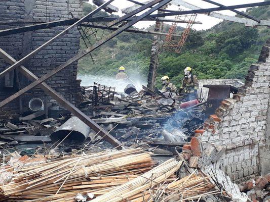 Explota polvorín en Zapopan; hubo un muerto y tres heridos