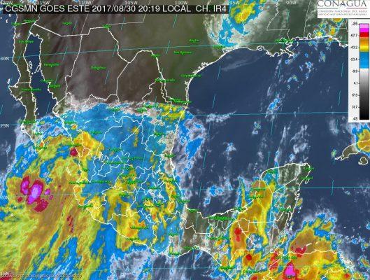 "Prevén tormentas intensas en Jalisco por tormenta tropical ""Lidia"""