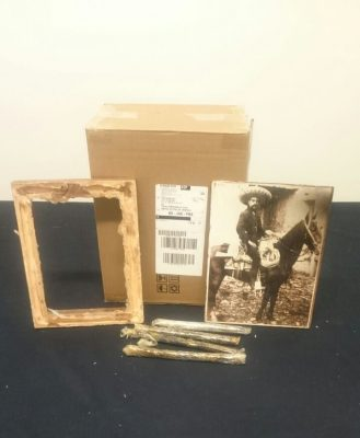 Descubren droga en cuadro de Emiliano Zapata en una paquetería de GDL