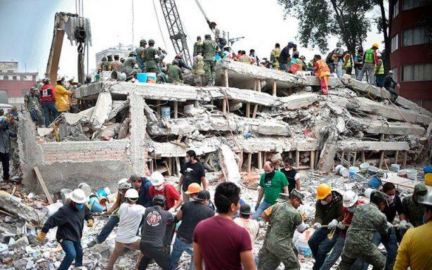 Suman 307 muertos por terremoto de 7.1 grados en México