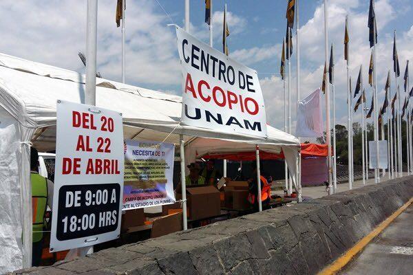 UNAM destinará 50 toneladas de víveres a Oaxaca