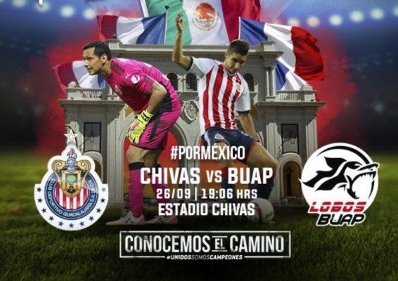 Chivas recibe a Lobos BUAP