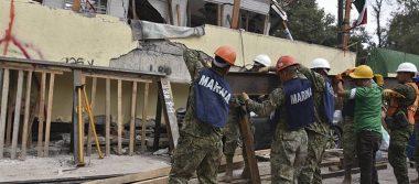 Continúa la búsqueda de sobrevivientes en los escombros del Rébsamen