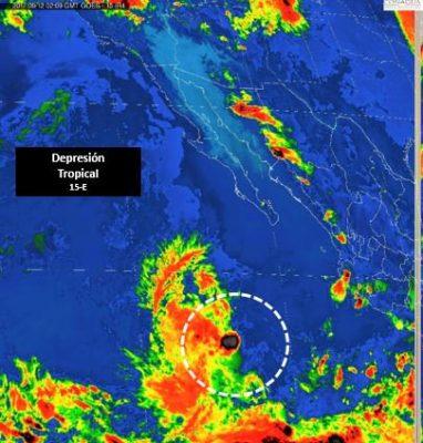 Pronostican tormentas intensas en localidades de Jalisco y Colima