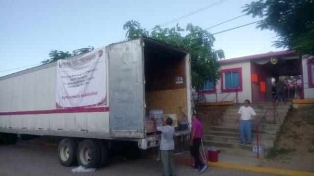 Ha enviado Jalisco más de 40 toneladas a damnificados en Chiapas y Oaxaca