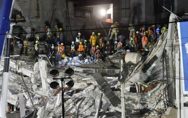 Tareas de rescate continúan en Álvaro Obregón; estructura podría colapsar