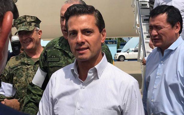 Peña Nieto recibe informe sobre avances de rescates en la CDMX tras sismo
