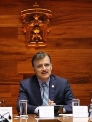 Felicita rector de la UdeG por mejora en la seguridad de la ZMG