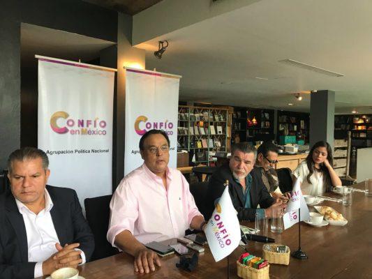 Estará Confío en México en las boletas del 2018