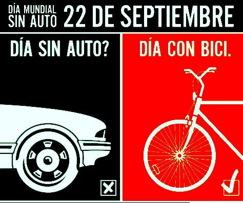 Este viernes 22 de septiembre, un día sin auto