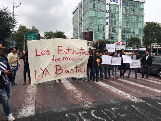 Realizará este lunes marcha del repudio la comunidad universitaria de la UdeG