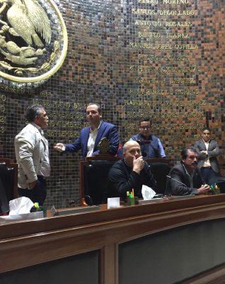 [Video] PAN acusa a MC y al PRI de querer tomar Mesa Directiva de forma ilegal