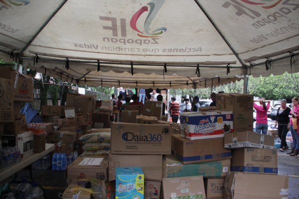 Zapopan ya envió primer cargamento de víveres a Morelos