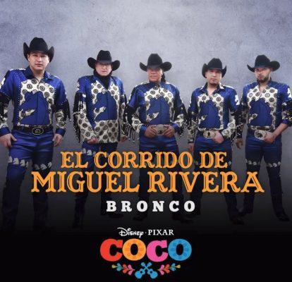 """Bronco interpretará """"El corrido de Miguel Rivera"""""""