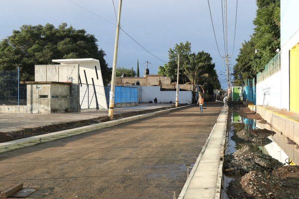 Uribe supervisa obras para mitigar inundaciones en Tlajomulco