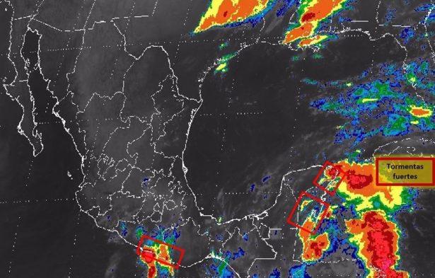 Frente frío seis generará temperaturas en norte del país