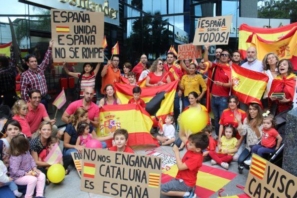 Comunidad española en GDL se pronunció en contra de la independencia de Cataluña