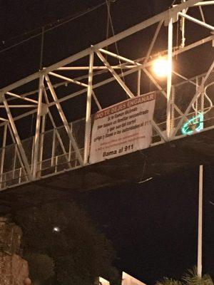 Vecinos de San Juan de los Lagos vuelven a colocar lonas contra las extorsiones