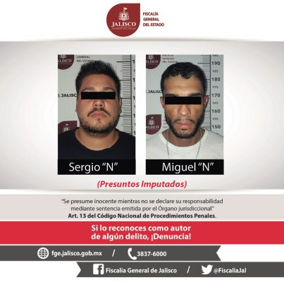 Capturan dos hombres que presuntamente asaltaban por la zona de Chapultepec