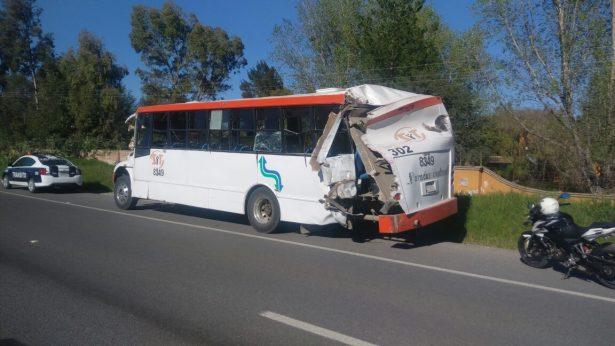 Otro camionazo con 10 lesionados y Movilidad del estado sin actuar