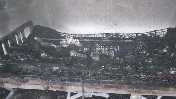 Se incendió Centro de Salud de Santa Cruz del Astillero