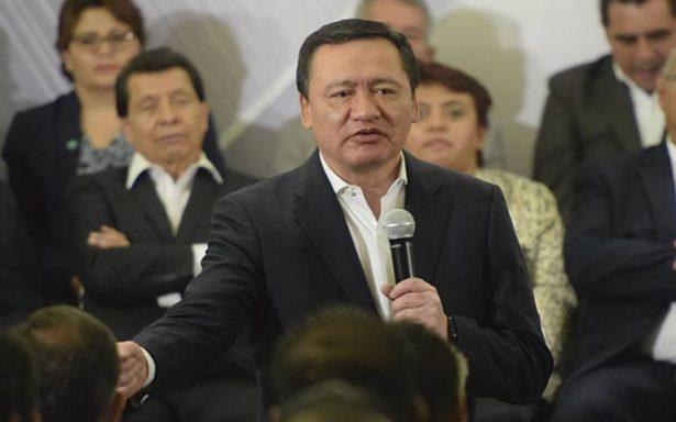 Gobierno no tocará un solo centavo del dinero donado a damnificados: Osorio Chong
