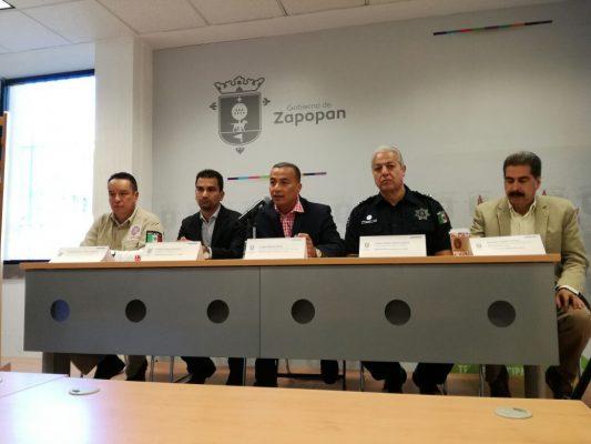 Anuncia Zapopan operativo para los días 1 y 2 de noviembre