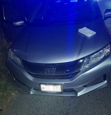 Detienen a dos en coche robado en Guadalajara