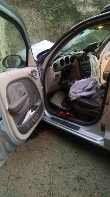 Muere conductor de vehículo al impactarse contra muro de paso a desnivel