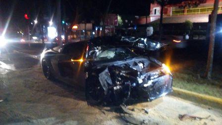 Alan Pulido habría sufrido accidente en Zapopan