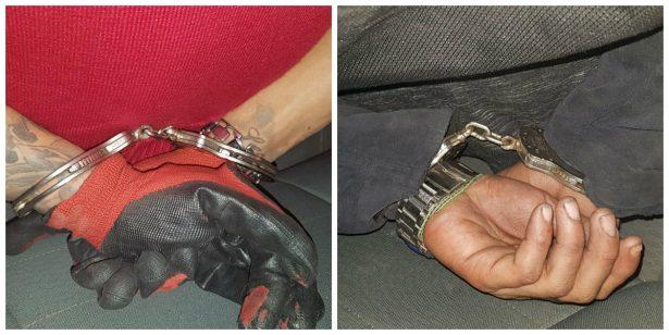 Caen dos sujetos señalados del robo de una moto en Guadalajara