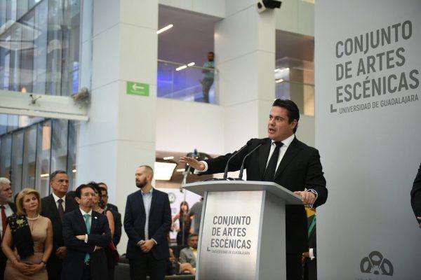 Inauguran el Conjunto de Artes Escénicas de la UdeG — Guadalajara