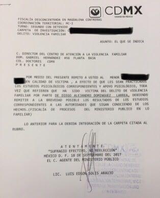 Investiga Fiscalía en CDMX a catedrático Domínguez Larrea del ITAM