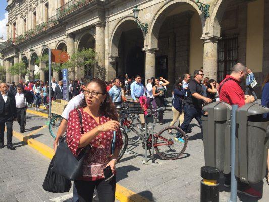 Desalojan dos veces el Ayuntamiento de Guadalajara por falsas alarmas de incendio o sismo