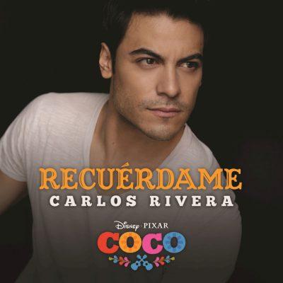"""Carlos Rivera canta """"Recuérdame"""" en """"Coco"""""""
