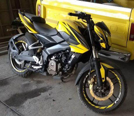 Detenidos por robo de motocicleta