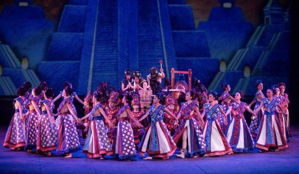 Ballet folclórico de UdeG en Conjunto de Artes