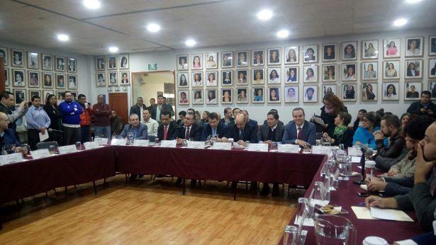 Pérez Partida comparece ante Congreso sobre Presupuesto de Egresos