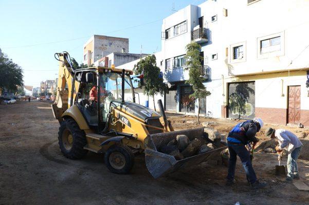 Supervisa SIOP obras en Paseo Fray Antonio Alcalde