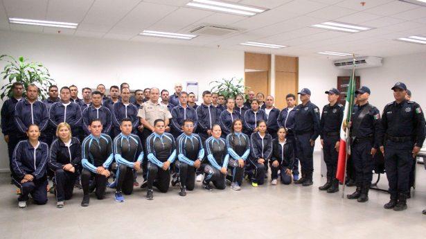Oficiales de Zapopan, listos para los V Juegos Latinoamericanos de Policías y Bomberos
