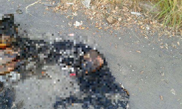 Desmembrado y calcinado fue encontrado el cuerpo de un hombre en Guadalajara