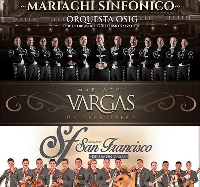 Imagen: Mariachi Vargas de Tecalitlán.