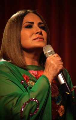 Tania Libertad disfruta cantar