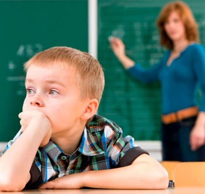 Niños con déficit de atención en aumento