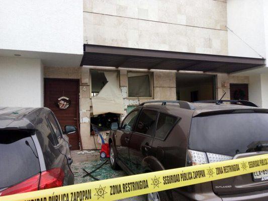 Explosión en Jalisco deja 10 lesionados